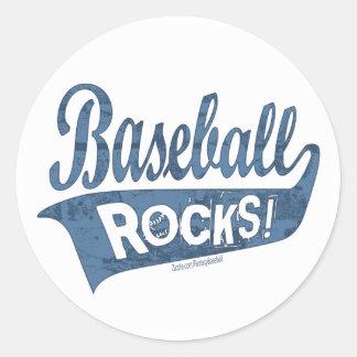 Baseball Rocks! Sticker