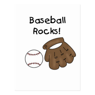 Baseball Rocks T-shirts and Gifts Postcard