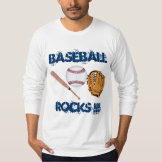 BASEBALL ROCKS TEE SHIRT