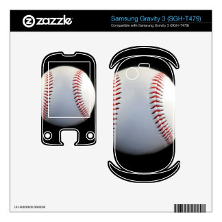 Baseball Samsung Gravity 3 Skin