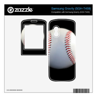 Baseball Samsung Gravity Decals