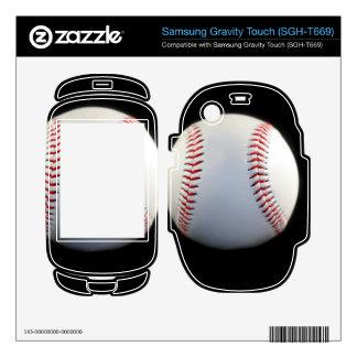 Baseball Samsung Gravity Touch Skins