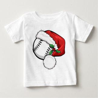 Baseball Santa Cap Baby T-Shirt