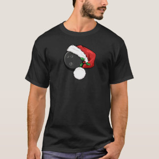 Baseball Santa Cap for Christmas T-Shirt