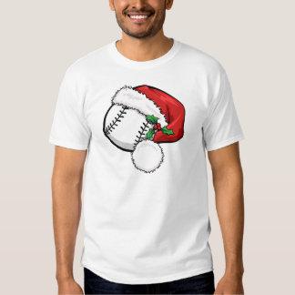 Baseball Santa Cap Shirt