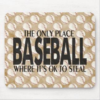 Baseball saying mousepads