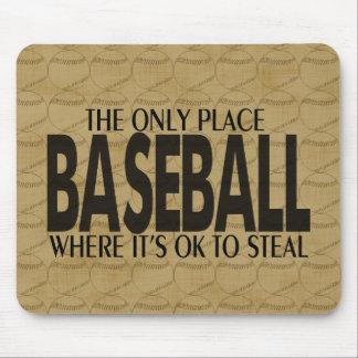 Baseball saying mousepad