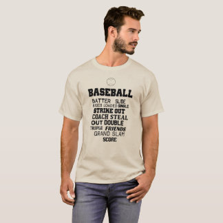 Baseball Sayings, Bases Loaded, Double... T-Shirt