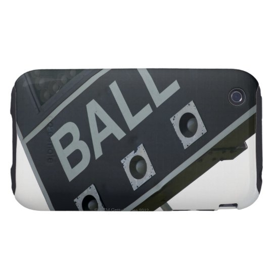 Baseball scoreboard 2 iPhone 3 tough case