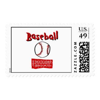 Baseball & Scoreboard Stamps