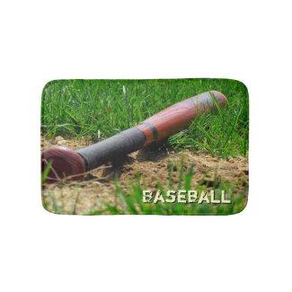 Baseball Season Bath Mats