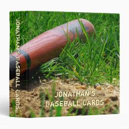 Baseball Season Custom Binder
