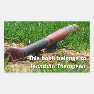 Baseball Season Custom Bookplate