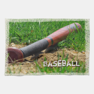 Baseball Season Custom Kitchen Towel