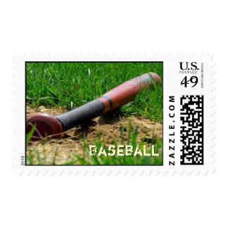 Baseball Season Custom Postage Stamp