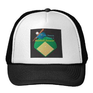 Baseball Season Trucker Hat