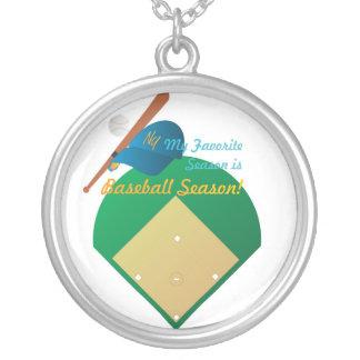 Baseball Season Necklace