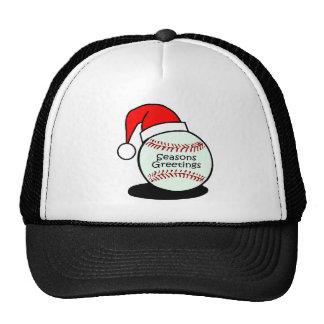 Baseball Seasons Greetings Trucker Hat