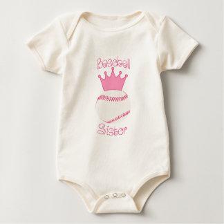Baseball Sister Baby Bodysuit