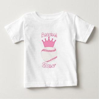 Baseball Sister Baby T-Shirt
