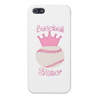 Baseball Sister Cover For iPhone SE/5/5s