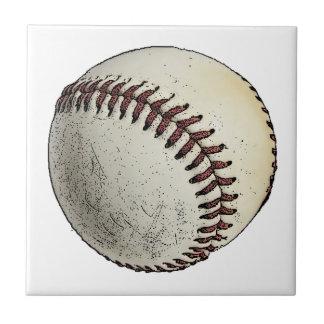 Baseball Sketch Tile