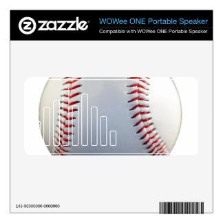 Baseball Skins For WOWee Speakers