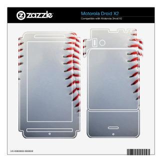 Baseball Motorola Droid X2 Skins