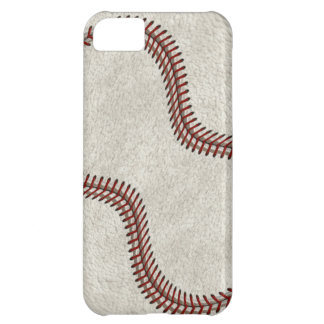 """Baseball Skin Ball Game """"American Past-time"""" Sport Case For iPhone 5C"""