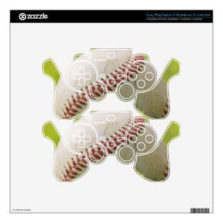 Baseball Skin For PS3 Controller
