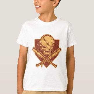 Baseball Skull & Cross Bats T-Shirt