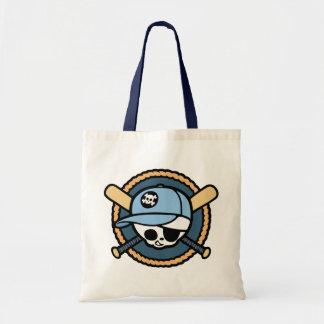 Baseball Skull & Crossbats -boys Tote Bag