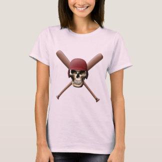 Baseball Skull & Crossed Bats T-Shirt