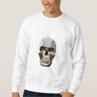 Baseball Skull Sweatshirt