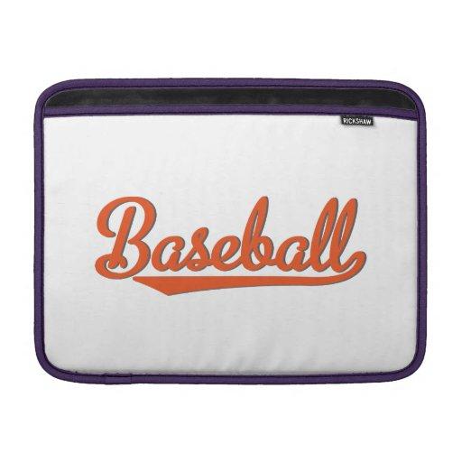 baseball sleeve fürs MacBook air
