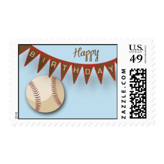 Baseball Slugger Postage