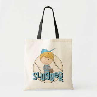 Baseball Slugger T-shirts and Gifts bag