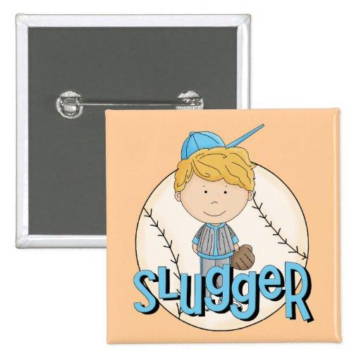 Baseball Slugger T-shirts and Gifts Pin