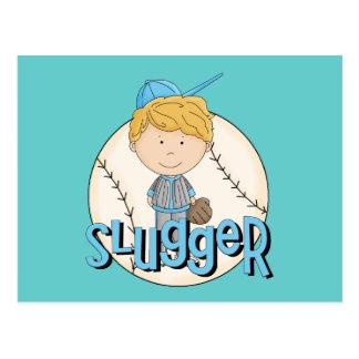 Baseball Slugger T-shirts and Gifts Postcard