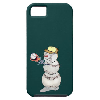 Baseball Snowman iPhone SE/5/5s Case