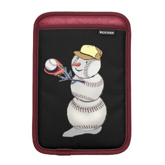 Baseball Snowman Sleeve For iPad Mini