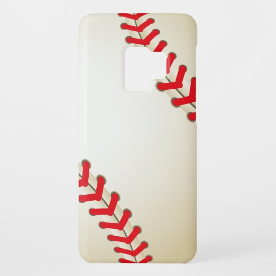 Baseball Softball Ball Case-Mate Samsung Galaxy S9 Case