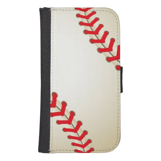 Baseball Softball Ball Phone Wallet