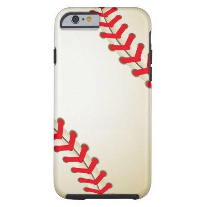 Baseball Softball Ball Tough iPhone 6 Case