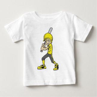 BASEBALL / SOFTBALL BOY BATTING BABY T-Shirt