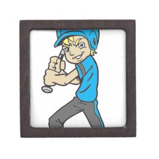 BASEBALL / SOFTBALL BOY BATTING GIFT BOX