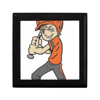 BASEBALL / SOFTBALL BOY BATTING KEEPSAKE BOX