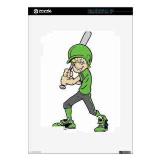 BASEBALL / SOFTBALL BOY BATTING SKIN FOR THE iPad 2