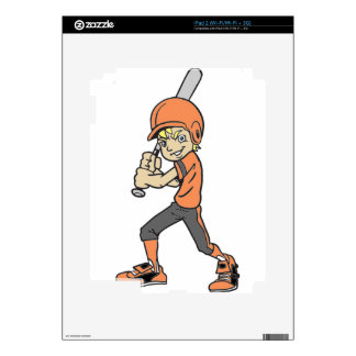 BASEBALL / SOFTBALL BOY BATTING SKINS FOR iPad 2