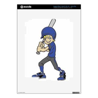 BASEBALL / SOFTBALL BOY BATTING SKINS FOR iPad 3